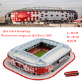 2018 Russia Football Cup Stadium Model Football Soccer Ball Stadium Model DIY 3D Gigsaw Puzzle Soccer Souvenir Nice Gift for Kid