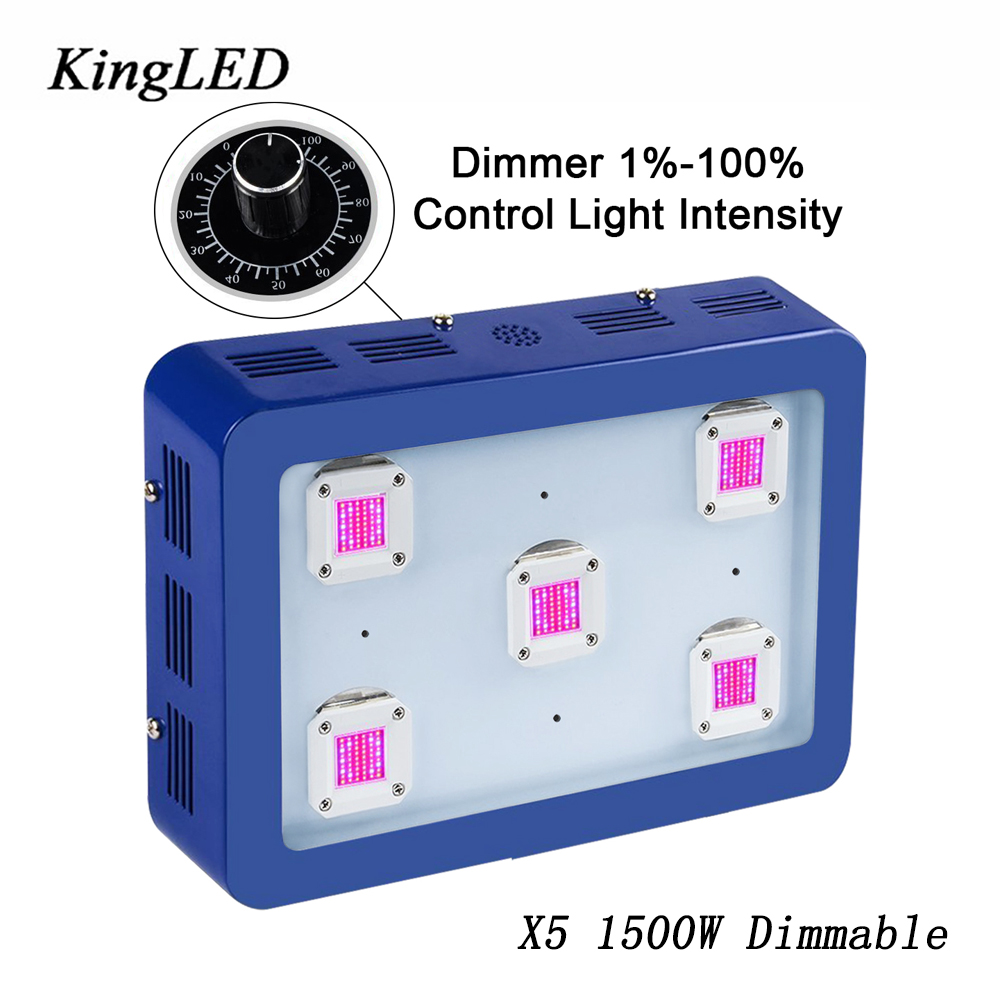 BESTVA X5 Dimmable 1500W LED Grow Light Full Spectrum Blue Color LED Grow Light For Indoor Plants Growing Flowering Plant Light free shipping 280mm central distance 100 mm stroke pneumatic auto gas spring lift prop gas spring damper the furniture end