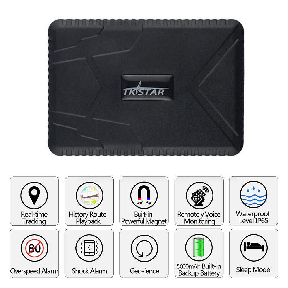 Tracking-Device Gps-Tracker TK915 Battery Magnet-10000mah Realtime Waterproof Car GSM