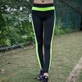 2016 Новая Мода Сексуальная Натяжные Одежда Быстросохнущие Женская Спортивная Леггинсы Фитнес Активные Брюки Y25109