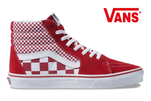 be0eef32336e0 Original Vans Old Skool red checkerboard low cut shoes,High Quality Classic  Men/Women shoes Weight lifting shoes size 36-44
