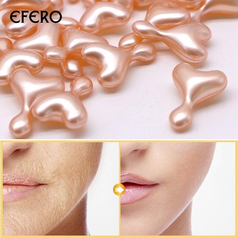 EFERO 5/10/15/20pcs 24k Gold Anti Wrinkle EGF Ampoule Capsule Aging Serum Face Care Moisture Whitening Essence Cream