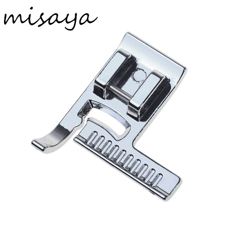 Misaya Brand 1pcs Stainless Steel Domestic Sewing Machine Presser Foot Feet Kit Set With Box For Brother Singer Janom S04059