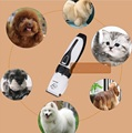 professionally pet hair trimmer dog or cat hair trimmer hair cutter easily opearation low noise ceramic blade hair cut tool