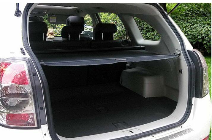 Car Rear Trunk Security Shield Shade Cargo Cover For Chevrolet Captiva 2008 09 10 11 2012 2013 2014 2015 2016 2017(Black beige) car rear trunk security shield shade cargo cover for honda cr v crv 2012 2013 2014 2015 2016 2017 black beige