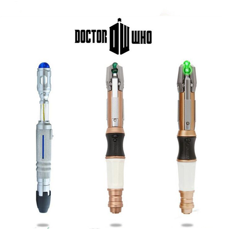 Anime Doctor Dr.WHO Action Figure Toy 10th/11th/12th Screwdriver Cospaly Light Sounds Official Sonic Toys Collector ToyAnime Doctor Dr.WHO Action Figure Toy 10th/11th/12th Screwdriver Cospaly Light Sounds Official Sonic Toys Collector Toy