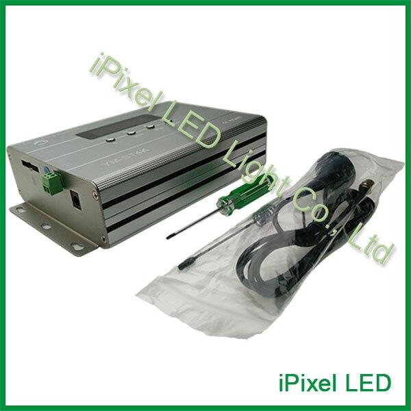 DMX SD card controller,DC5V-24V led pixel controller,rgb remote controller dmx rgb sd card led controller programmable with software