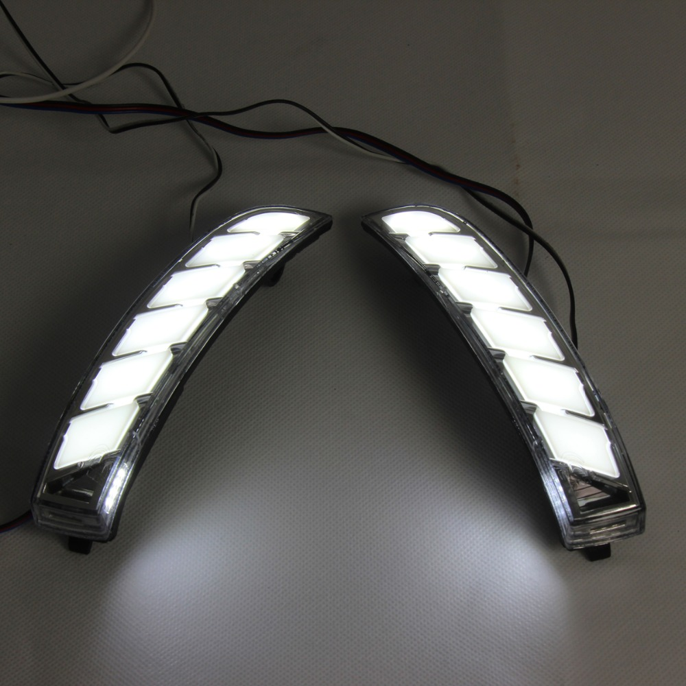 Ford rearview mirror light 3
