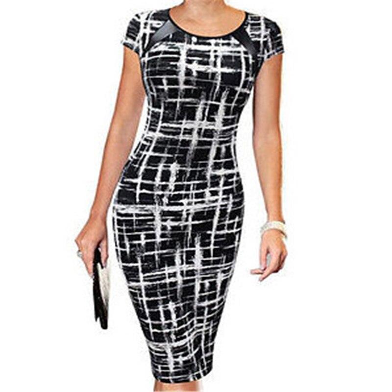 2018 Summer Women Bandage Bodycon Dresses Sketch Polka Dot Stars 3styles Short Sleeve Evening Party Dress Women Clothing short dresses office wear