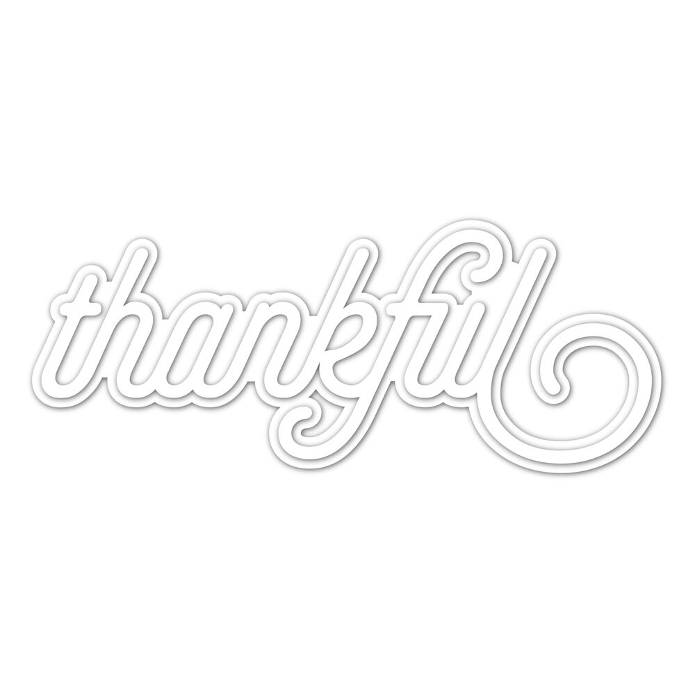 Hemere Cutting Dies Thankful Cuts Steel Metal Scrapbooking-Paper/photo-Card New for DIY