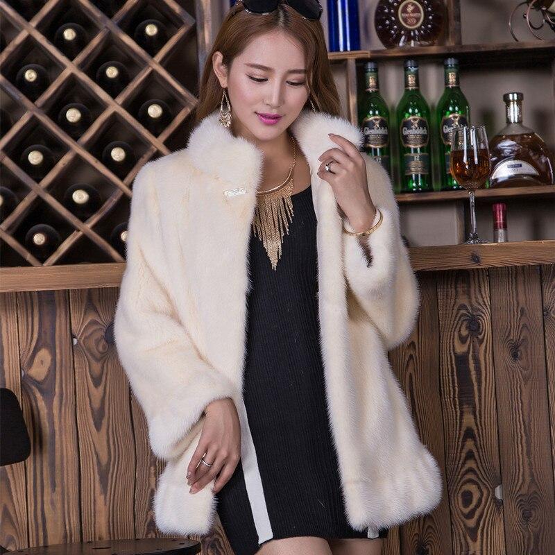 Aliexpress.com : Buy 2017 New Fashion Women Whole Mink Skin Real ...
