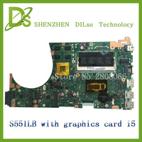 For Asus S551LB Non Integrated Loptop Motherboard With Cpu I5 On Board