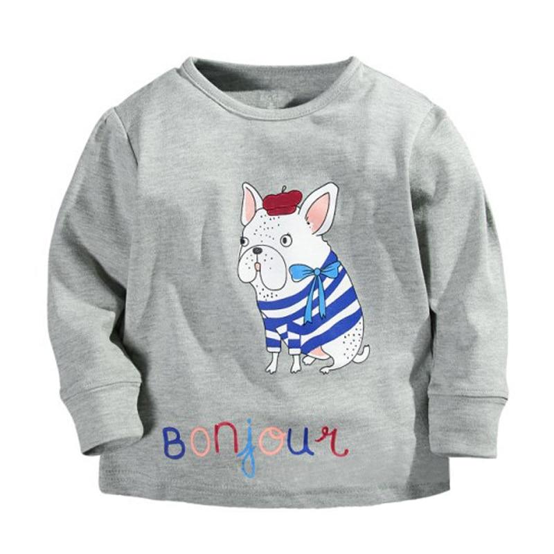 New Autumn Winter Design 100 Cotton Kids T Shirt Children