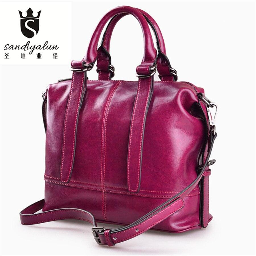 2017 New Luxury font b Handbags b font Genuine font b Leather b font Women Bags