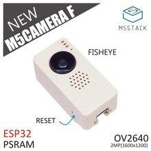 M5Stack New Fish-eye Camera Module OV2640 Fisheye Mini Camera Unit Demoboard with ESP32 PSRAM Development Board GROVE Port TypeC цены