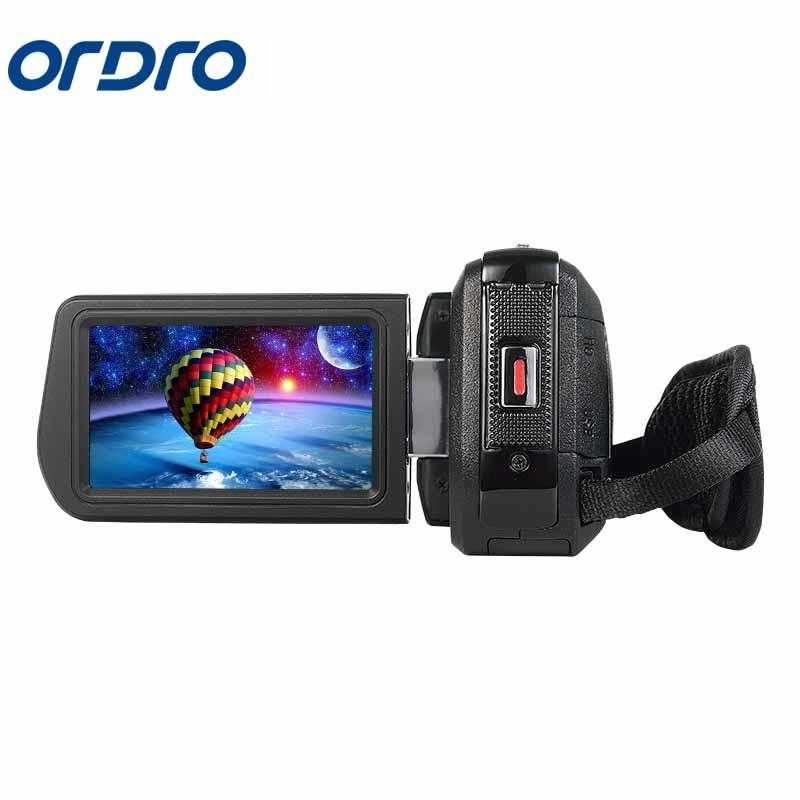 Ordro 3.0 pouces HDV Rotation écran 1080 P Full HD Reflex caméras numériques enregistreur vidéo professionnel 24MP CMOS caméra Photo - 3