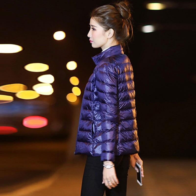 Plus size winter short Down jacket Women Ultralight Duck Jackets 2018 New Parkas Fashion female Waterproof Warm tops Coat 60 in Parkas from Women 39 s Clothing