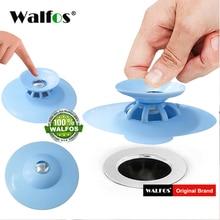 WALFOS, ситечко для кухонной раковины, сливная пробка, аксессуары для ванной комнаты, душевой фильтр, раковина, Ловец волос, пробка для воды