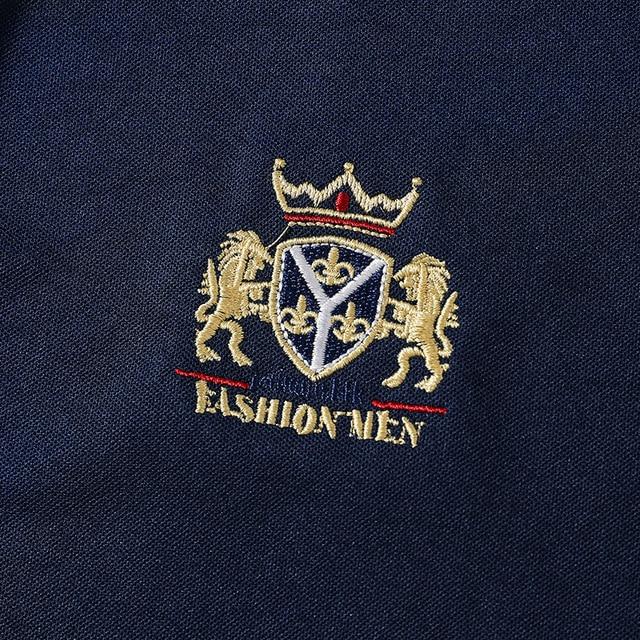 Nouvelle marque POLO chemise hommes boutique broderie respirant à manches courtes décontracté Polos hommes homme grande taille 6XL 7XL 8XL vêtements 3