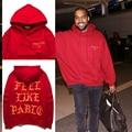 The Life Of Pablo Kanye West Yeezys Hoodie Men Hip Hop Pull Paris Opening saint pablo Tour  ye I feel Like Paul Pablo Sweatshirt