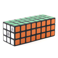 WitEden Unequal 3x3x8 Camouflage Magic Cube Professional Speed Puzzle 338 Cube Educational Toys for Children cubo magico