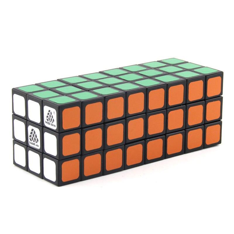 WitEden inégale 3x3x8 Camouflage magique Cube professionnel vitesse Puzzle 338 Cube jouets éducatifs pour enfants cubo magico