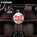 Encargo del coche tapetes personalizados para jeep grand cherokee comandante brújula patriot wrangler 2/3 filas de coches pie alfombras alfombras pie