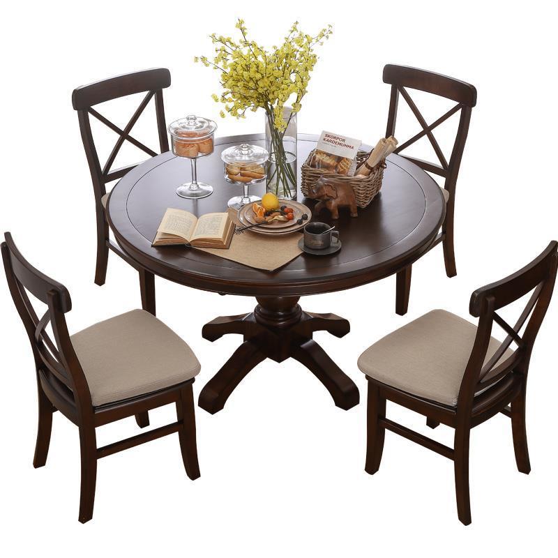 Pliante Langer A Manger Moderne Esstisch Juego De Eettafel Kitchen Wooden Round Bureau Mesa Comedor Desk Tablo Dining Room Table
