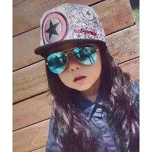 2e58a48bff Curtain Fashion Kid Sunglass Aviation Child Sun glass Pilot Baby cat eye  sunglass uv400 goggle sunglass