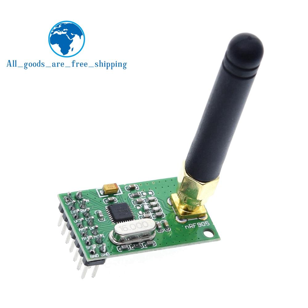 Module émetteur-récepteur sans fil NRF905 carte récepteur émetteur sans fil NF905SE avec antenne FSK GMSK faible puissance 433 868 915 MHz