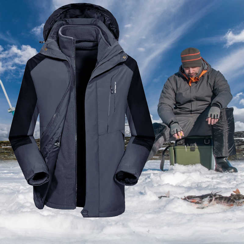 Куртки и штаны для зимней рыбалки