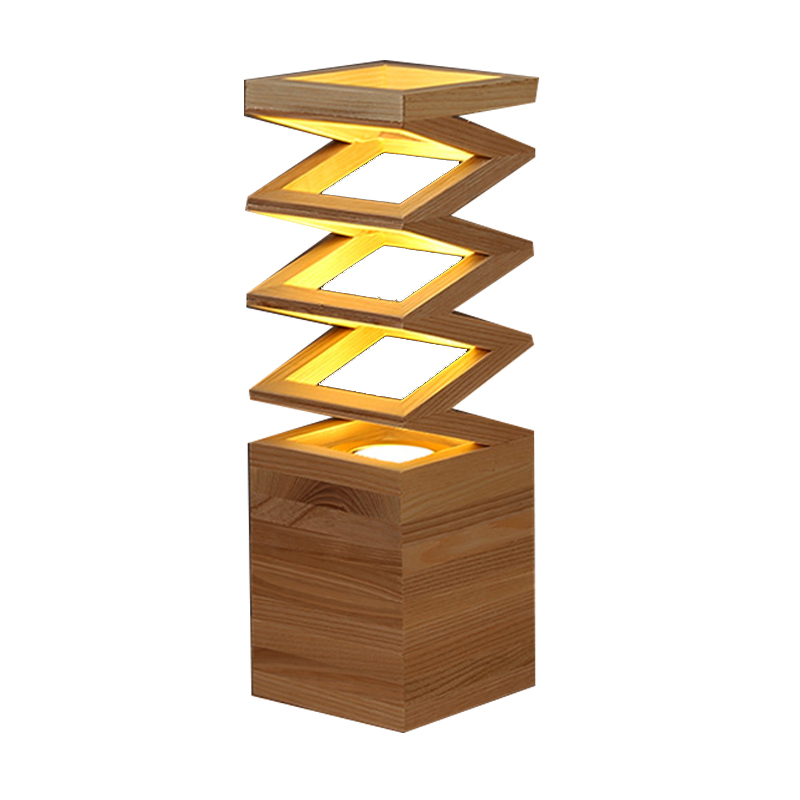 Novelty Luminaria De Mesa Led Night Light Bedroom Kids Led  Desk Lamp Solid Wood Decorative Table Lamps manjari singh introducing and reviewing preterm delivery and low birth weight