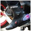 Nova motocicleta botas hombre botas de motociclista pro-biker velocidade bikers moto racing motocross off-road sapatos de couro