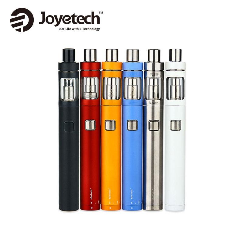 Originale Joyetech Torsione eGo + Kit 1500 mah eGo Torsione + Batteria e 2 ml Joyetech CUBIS D19 Atomizzatore Elettronico Cig Vaping Penna