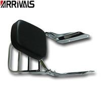 Backrest Sissy Bar Luggage Rack Rear Passenger Cushion Pad Kit For Honda VF 750 VF 250 Magna 1994 2003 VF750 VF250