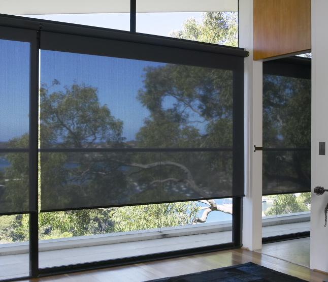 Free shipping sunscreen solar screen roller blinds customized size