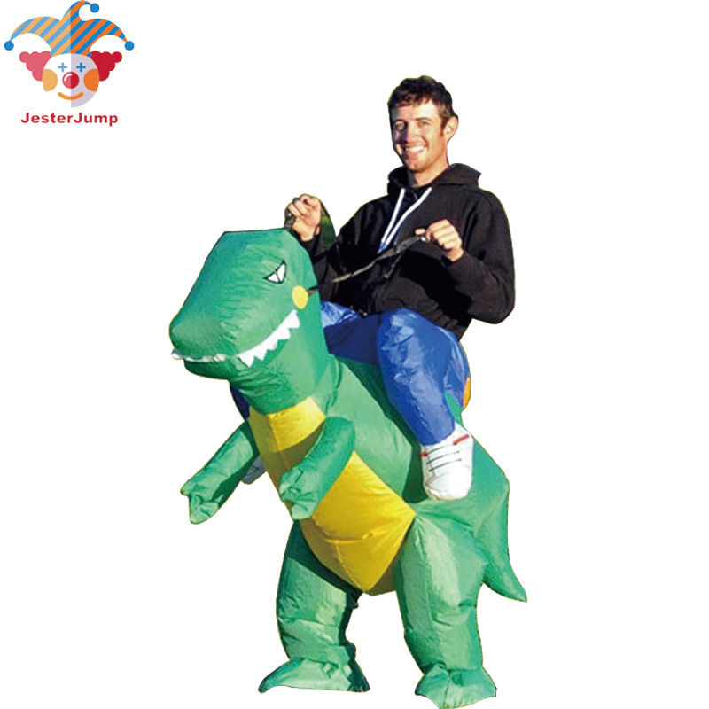 Free Shipping Inflatable Dinosaur Costume Party Cosplay Inflatable Adult Costume Halloween Costume Funny Costumes