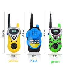 2PCS Walkie-talkie 60 Meters Away Outdoor Children Toy Kids Walkie Talkie Toy Two-Way Radio Long Range Handheld