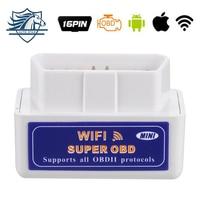 Super Mini Wifi ELM327 ElM 327 Wifi V1 5 OBD 2 II Car Diagnostic Tool OBD2