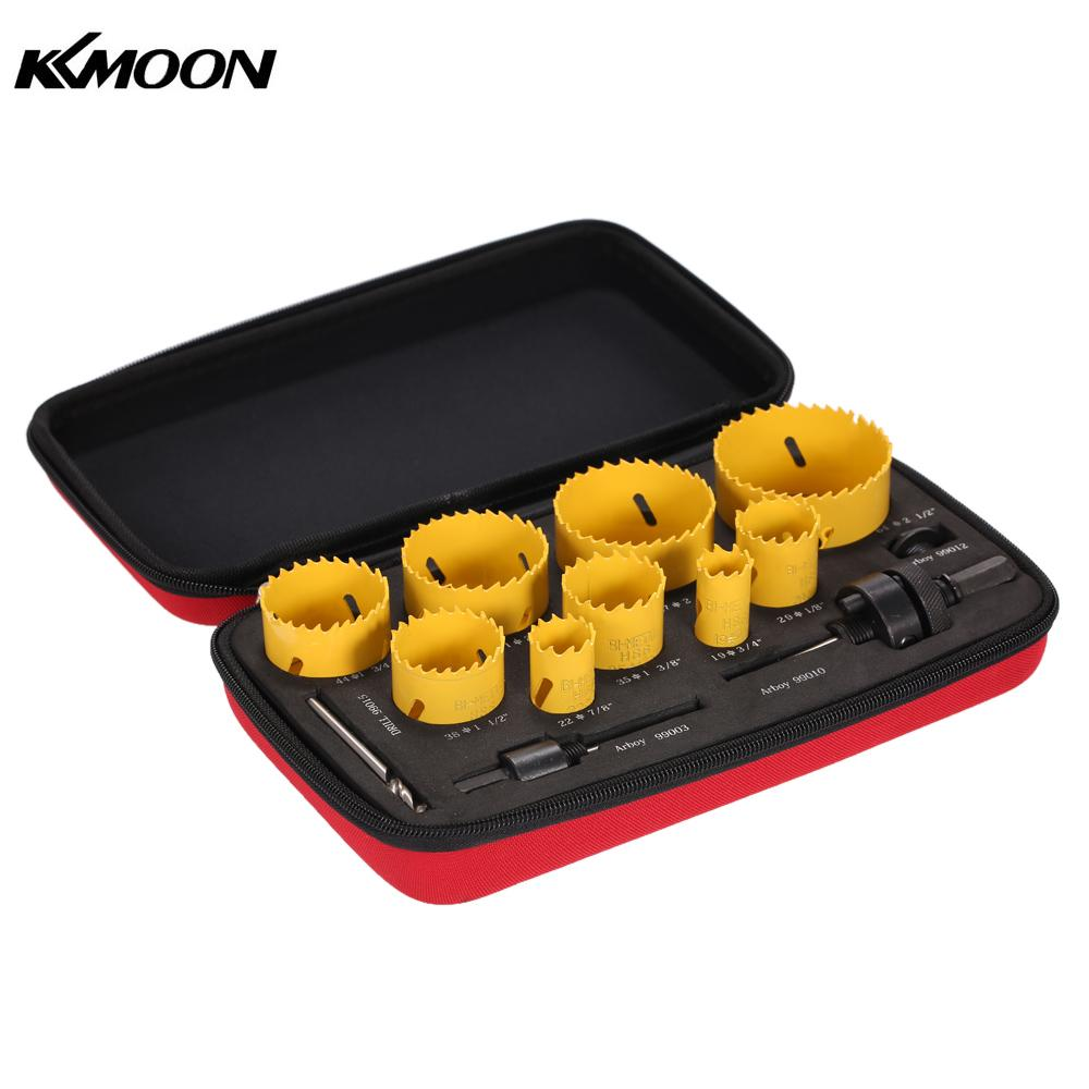 13pcs drill tools herramientas furadeira Hole Saw Kit Drilling Tool Arbor Pilot Drill Set for Plumber
