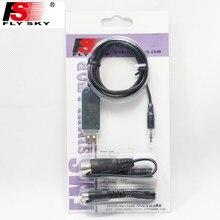 1 takim Ile Flysky FS-SM100 RC USB Uçuş Simülatörü FMS Kablo Helikopter Controller-2.4G