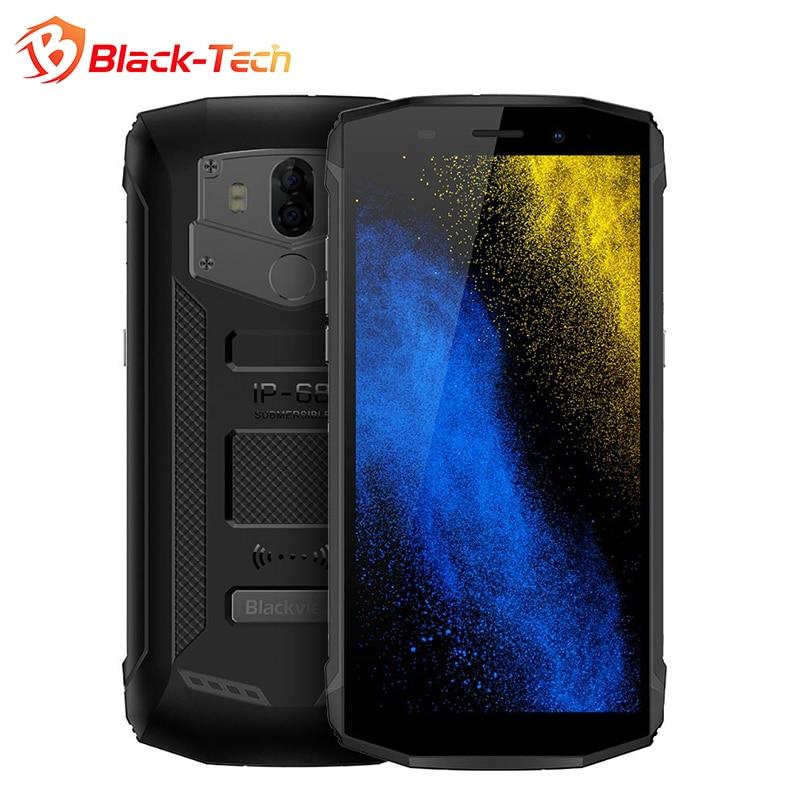 "Blackview BV5800 5.5"" HD+ Full Screen Smartphone MT6739 Quad Core 5580mAh Bak Battery 5V/2A Quick Charge 2GB+16GB NFC 4G Phone"