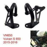 For Kawasaki Vulcan S 650 VN650 2015 2016 Motorcycle Engine Protetive Guard Crash Bar Protector Vulcans 650 15 16 Black