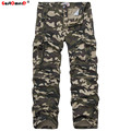 GustOmerD 2016 New Fashion Brand Autumn Winter Men Pants Male Casual Sweatpants Trousers Camouflage Cargo Pants Men