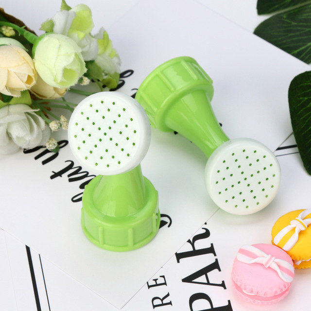 2pcs New Garden Spray Waterer Sprinkler Portable Plant Garden Watering Nozzle Tool used for almost of open of bottles