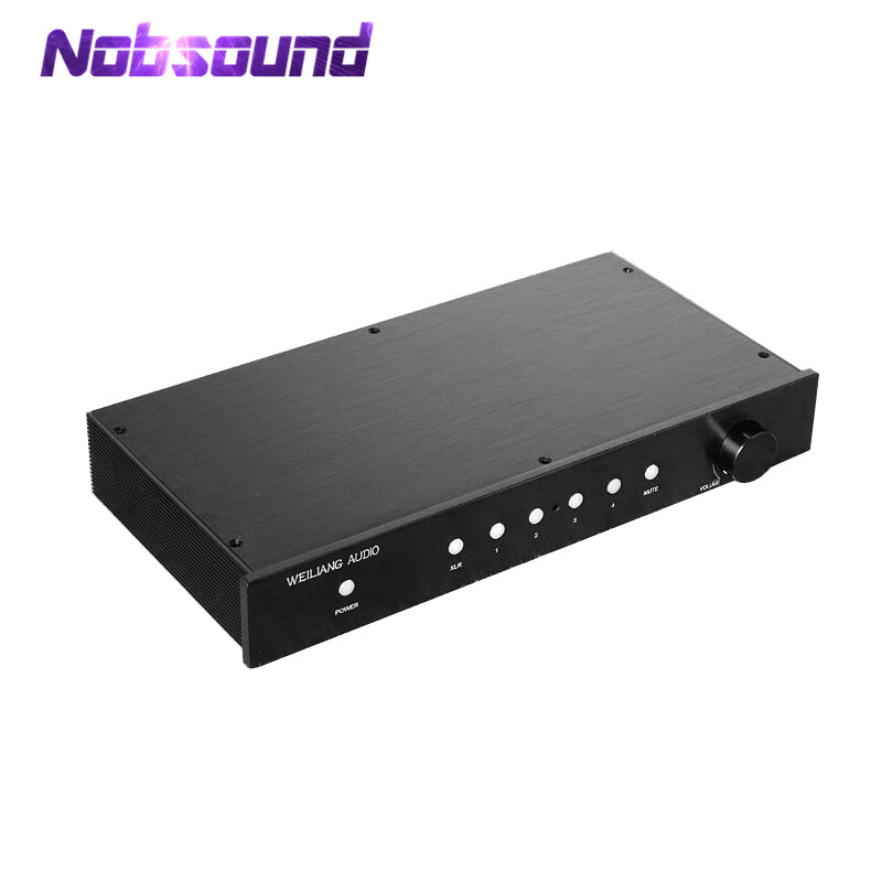 все цены на Nobsound HiFi Fully Balanced/Single-Ended Preamp Audio XLR/RCA Pre-Amplifier MBL6010 Circuit