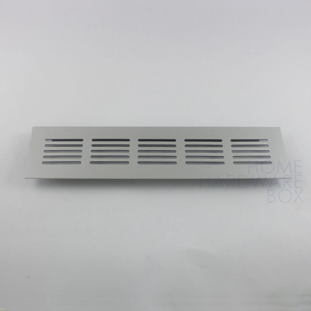 Air Vent Cover Louver Aluminum Vents Ventilation Panel Shoes Cabinet 20x5cm