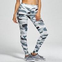 Camuflaje de verano Deportivos Leggings Mujeres Ropa de Entrenamiento de Fitness Leggings Leggins Flaco Impresión de Algodón