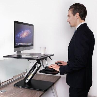Loctek M3M Height Adjustable Sit Stand Desk Riser Foldable