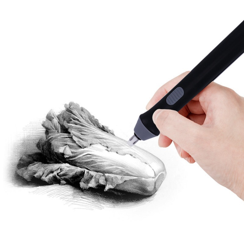 Electric Eraser Professional High-light Sketch Art Drawing Eraser Students Clean